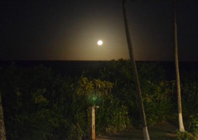 Anochece Fazenda Caeira
