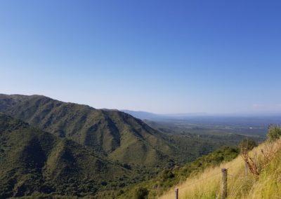 Vista Ruta Cordoba - La Falda