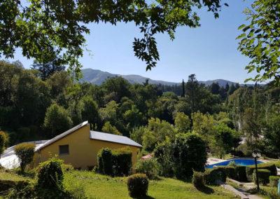 Vista a las Sierras desde el Compeljo