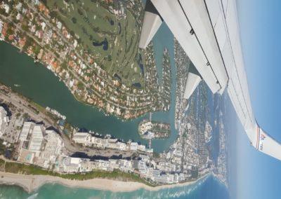 Llegando Miami