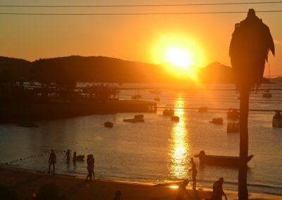Atardecer Praia Ossos