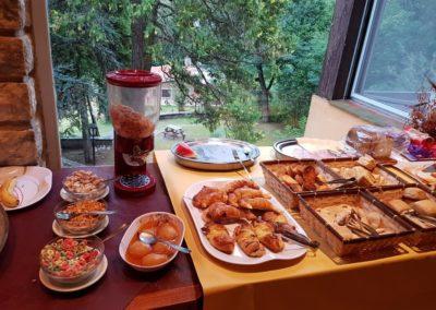 Desayuno Cabaña