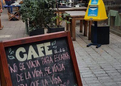 Café de Motevideo Uruguay