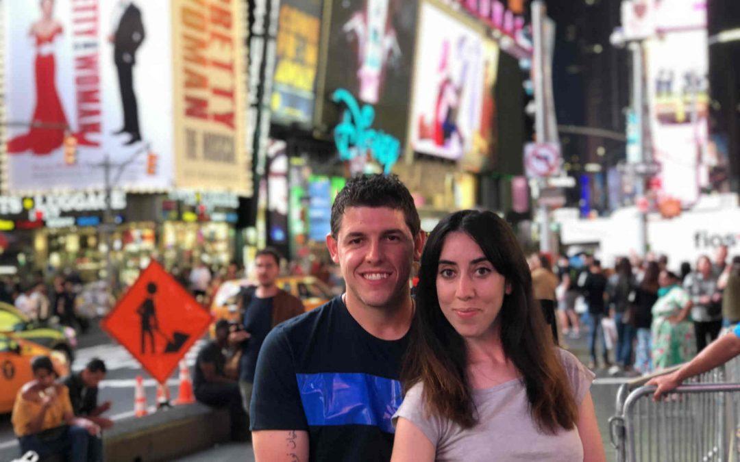 Agustina y Matias de TravelHolics.AR
