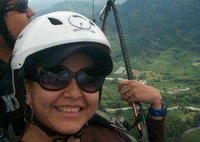 Que ver en Colombia por Yaritza Acevedo parapente