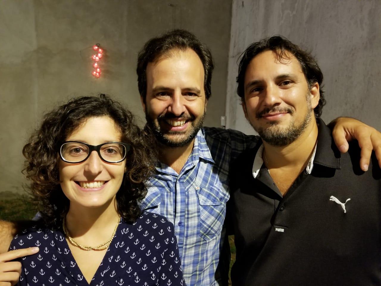 Cintia, Jorge y Pablo - Infoviajera