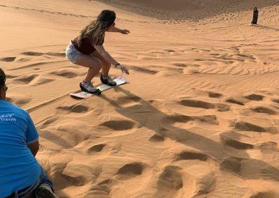 Blog de Viaje Wanderec Sandboard Dubai