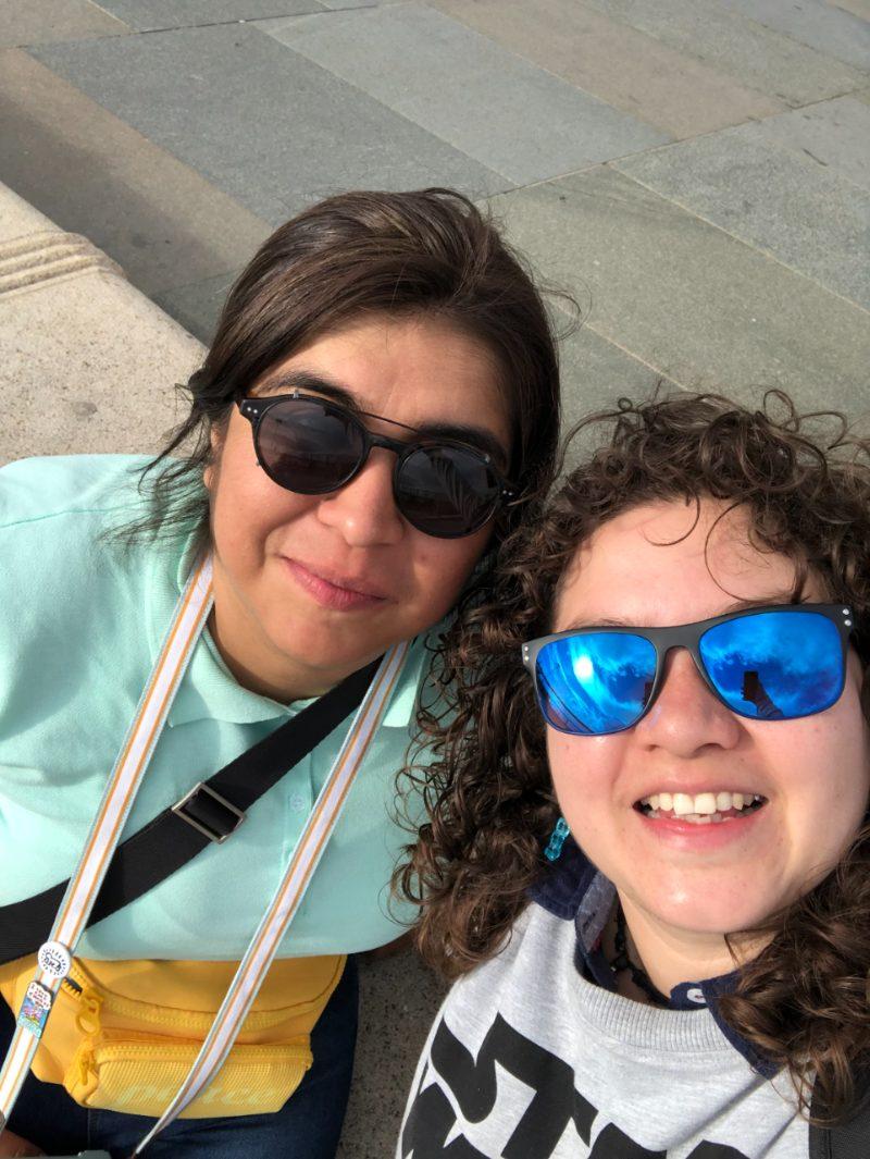 Miriam y Karla