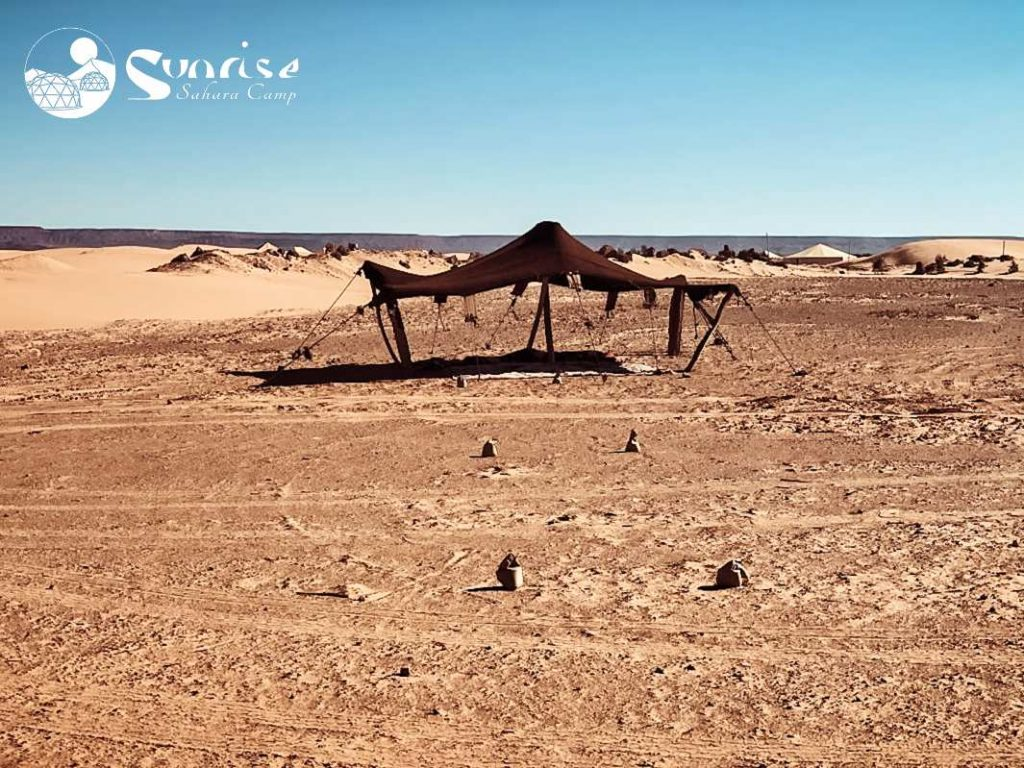 Campamento en el Desierto de Sahara - Marruecos - GonTraveler