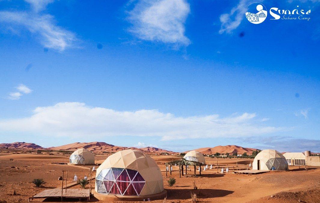 Campamento en el Desierto de Sahara