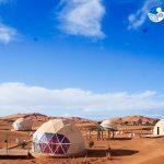 Campamento en el Desierto de Sahara - Marruecos - Blog de Viajes