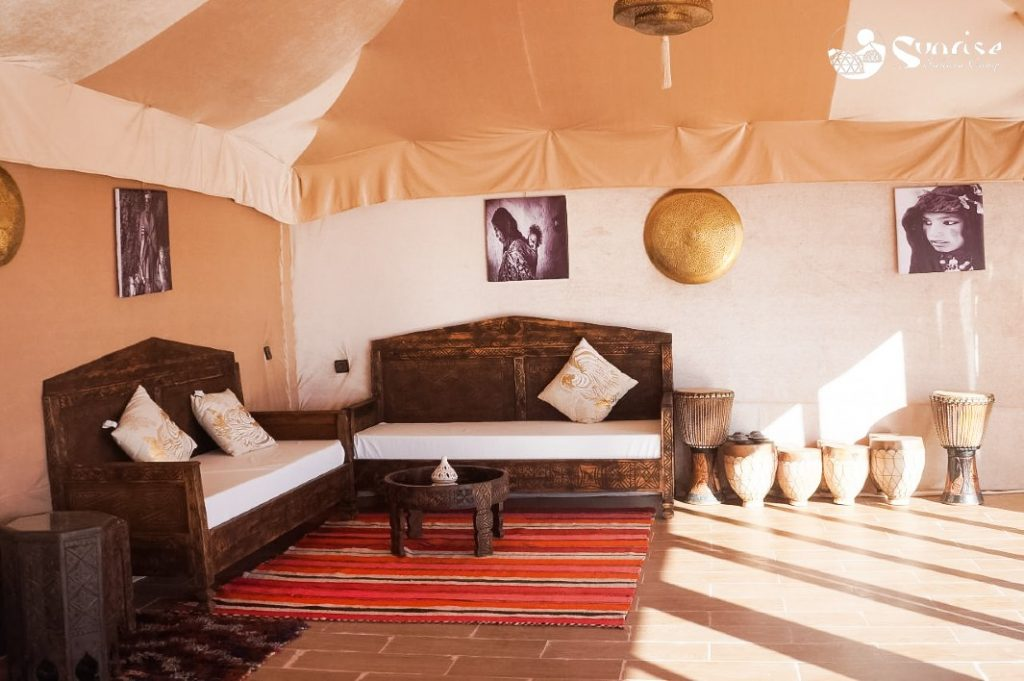Campamento en el Desierto de Sahara - Marruecos Entorno