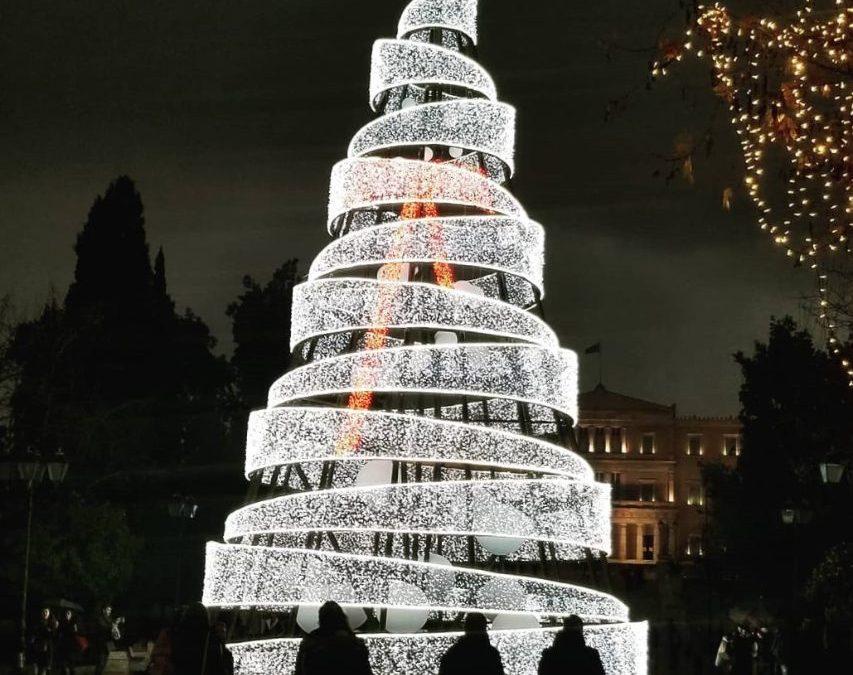 Navidades en Atenas