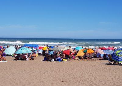 Necochea vacaciones de playa en familia Playa Centro