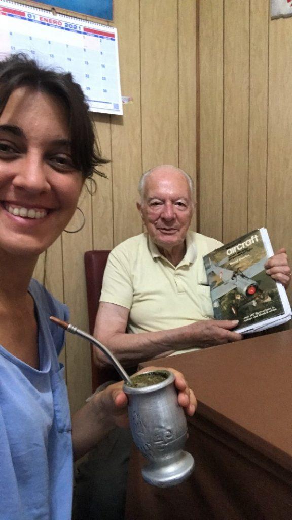 Entrevista a Cami Tisi de Partículas de un viaje Gontraveler Abuelo Mate